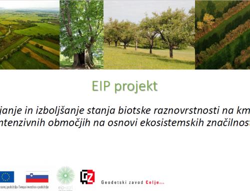 Ohranjanje in izboljšanje stanja biotske raznovrstnosti na kmetijsko intenzivnih območjih na osnovi ekosistemskih značilnosti
